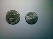 американские юбилейные монеты.