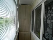 Утепление балконов,  отделка пластиковой панелью,  пластиковые откосы