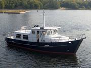 Голландская стальная яхта-траулер Globe Trawler 36