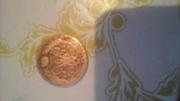 продам  монету 1758 года