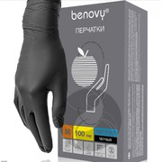 Нитриловые перчатки Benovy